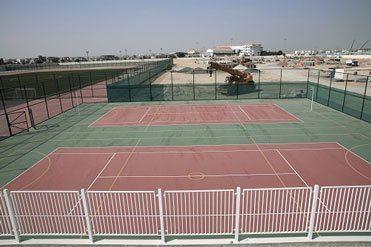 Kings' School Nad Al Sheba Netball Field MEDI7404-02